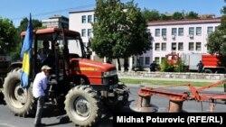 Poljoprivrednici su protestovali i u ljeto 2011.
