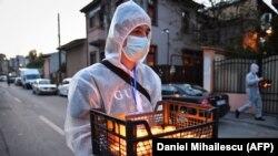 România, Paște 2020 - prima sătăare religioasă în pandemie.