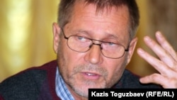 Сергей Дуванов, журналист. Алматы, 23 қазан 2012 жыл