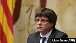 Katalosnki lider Carles Puigdemont