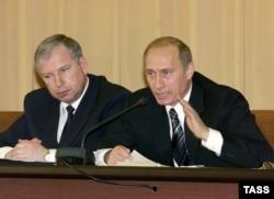Виктор Черкесов и Владимир Путин, 2004