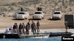 Sirijske demokratske snage na Eufratu, arhivska fotografija