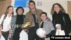 Adnan Mević sa Ronaldom