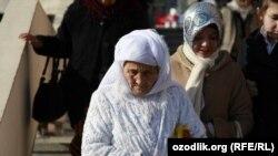 Жители Узбекистана.