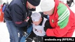 Ілюстрацыйнае фота. Беларускія чыноўнікі на «Менскай лыжні»