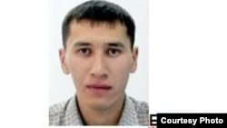 Ақтөбе облыстық ішкі істер департаменті іздеу жариялаған хабарламадағы Айдар Башимовтың суреті.
