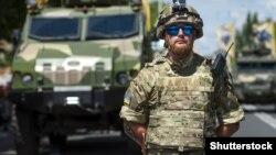 Ուկրաինացի զինծառայող Արևելյան Ուկրաինայում, արխիվ