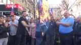 WATCH: Serbian Ultranationalists Mark NATO Air Campaign Anniversary