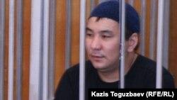 Ерганат Тараншиев на судебном заседании по «Шаныракскому делу». Алматы, 13 сентября 2007 года.