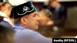 Татарстан президенты Рөстәм Миңнеханов Корбан гаетендә (архив фотосы)