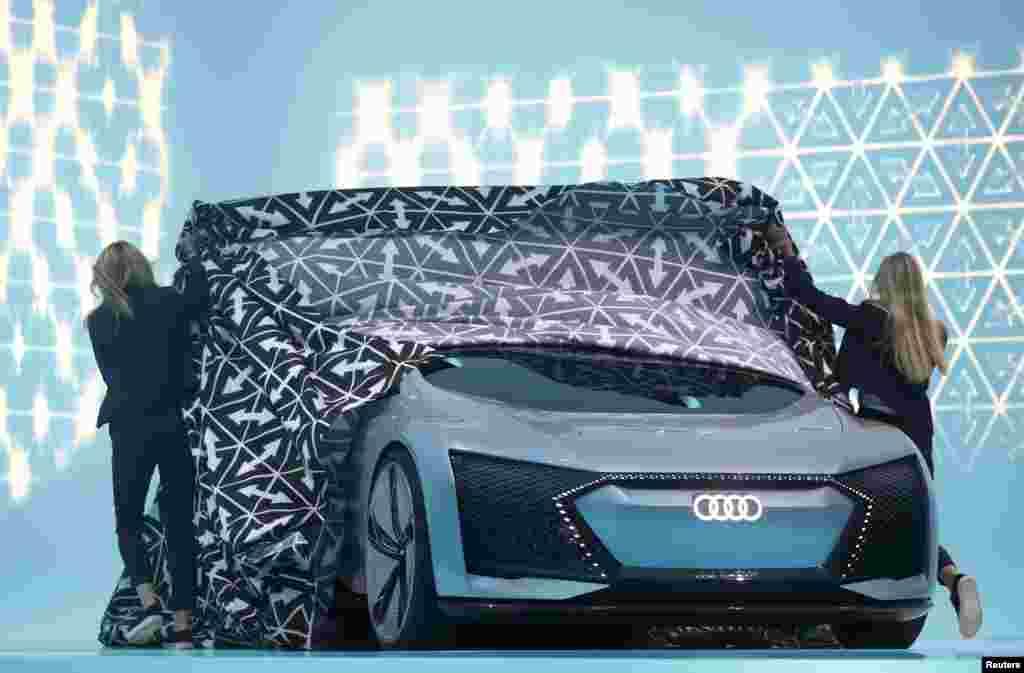 Yeni Audi Aicon
