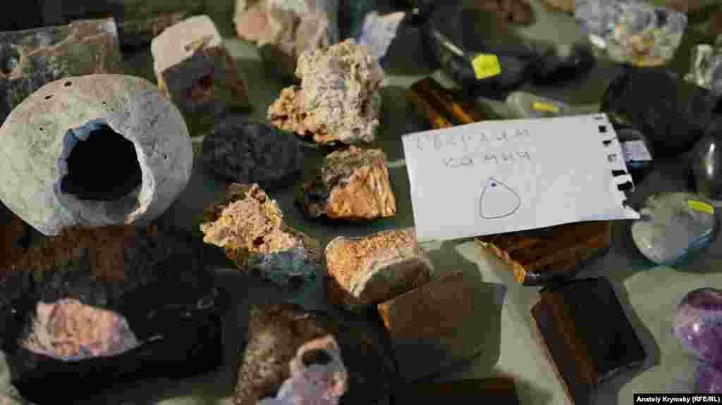Выставка-ярмарка драгоценных, полудрагоценных камней и природных минералов со всего мира в Симферополе, в музее «Таврида»