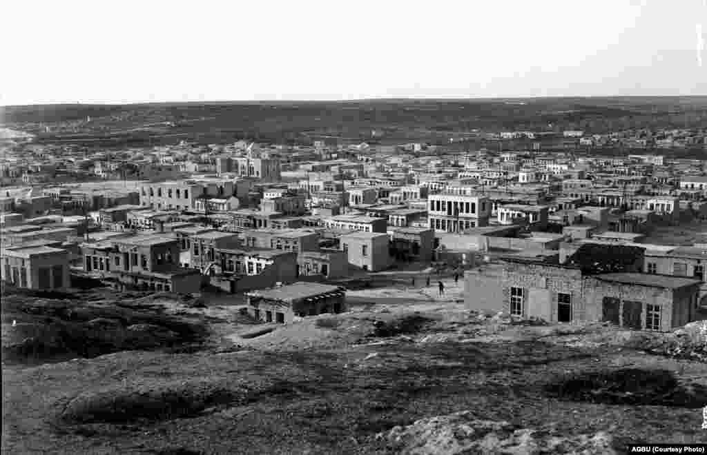 Armenian neighborhoods in Aleppo in the 1930s