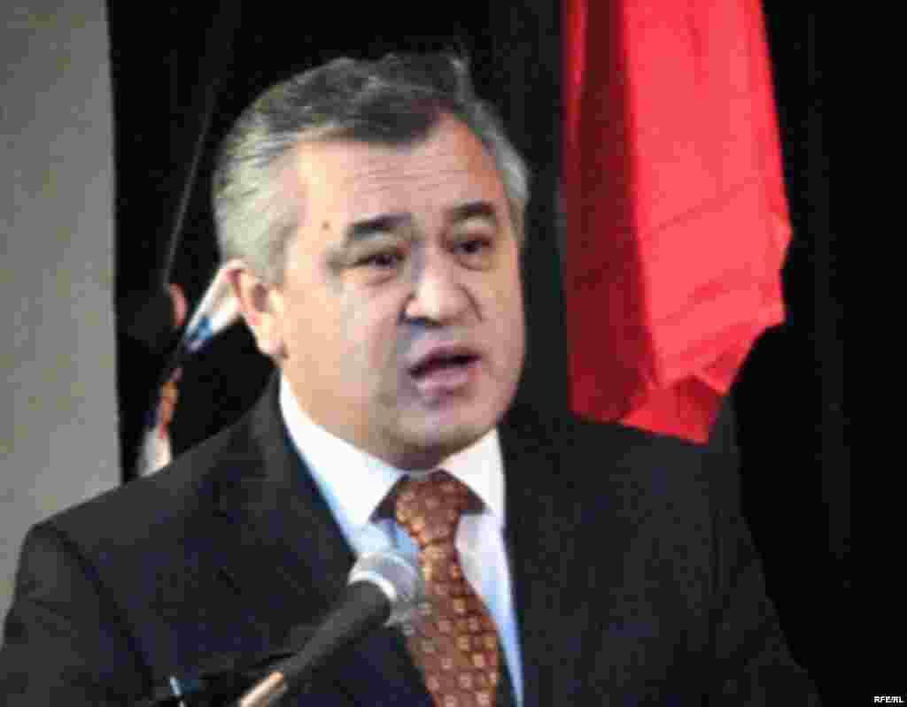 Бирдиктүү оппозициянын Элдик курултайы. 29-ноябрь, 2008-жыл