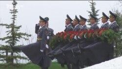 Kyrgyzstan Marks Anniversary Of Bloody Revolution