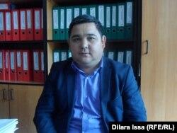 Шымкент қалалық білім беру бөлімінің бас маманы Ғалымжан Ерімбетов. Шымкент, 15 сәуір 2015 жыл.