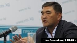 Один из кандидатов в президенты Камчыбек Ташиев.