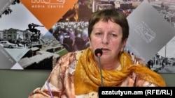 Armenia -- Human rights activist Zhanna Aleksanian, 23Oct2018.