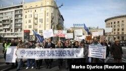 Penzioneri Srbije protestovali su u oktobru kada su im primanja smanjena od 10 do 20 odsto
