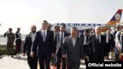 Iran -- Armenian Prime Minister Tigran Sargsian visits Iran, Tehran, 25Oct2010