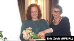 Kristina Turčin (na fotografiji lijevo)