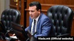 Архивска фотографија- премиерот Зоран Заев на владина седница