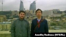 Ադրբեջան - Խաղաղության կորպուսի կամավորներ Բաքվում, արխիվ