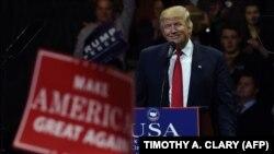 Дональд Трамп в Огайо 1 декабря 2016