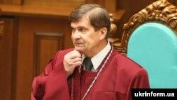 Голова Конституційного Суду України Анатолій Головін