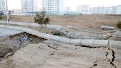 Aşgabat: Parahatda köçeler ýene hatardan çykyp başlady