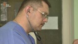 Воєнно-польова хірургія у Попасній (відео)