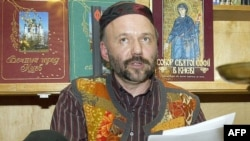 Popularul scriitor ucrainean Andri Kurkov