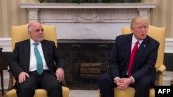 Дональд Трамп ал-Абодий билан.