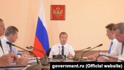 Дмитро Медведєв у Криму, 25 липня 2016 року