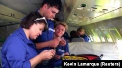 """Britansko medicinsko osoblje učestvuje u """"Operaciji Irma"""", 1993."""