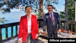 Охрид - македонскиот премиер Зоран Заев и српската премиерка Ана Брнабиќ, 02.07.2021