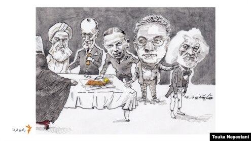 عباس امانت و مهمانانش/ کاری از توکا نیستانی