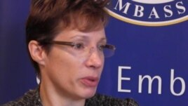 U.S. Ambassador Tracey Ann Jacobson