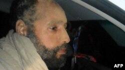 Сеиф ал-Ислам по апсењето на 19 ноември 2011 година.