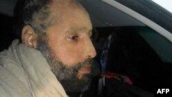 Сеиф ал-Ислам Гадафи по апсењето.