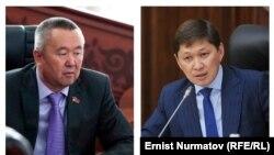 Сайдулла Нышанов жана Сапар Исаков.