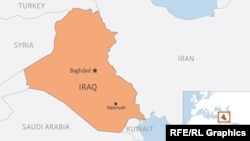 Harta e Irakut. Fotografi nga arkivi.