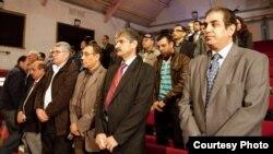 ممثلون عن المكونات الإيرانية غير الفارسية في مؤتمر بلندن