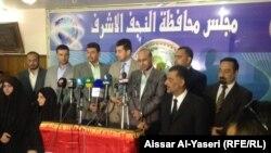 إعلان عن تحالف جديد في مجلس محافظة النجف