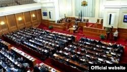 Parlamentul de la Sofia în ședință plenară