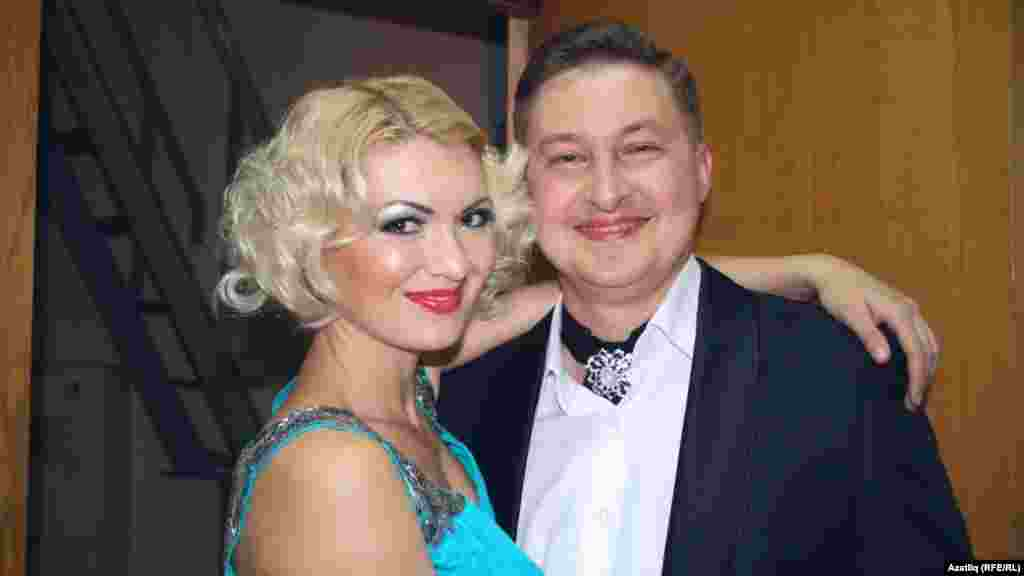 Ландыш Нигъмәтҗанова һәм Фәрит Таишев