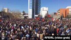 Protest u Prištini, 4. mart 2017.
