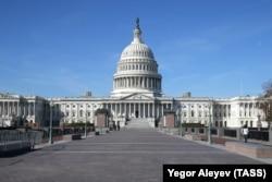 Капитолий, здание Конгресса США в Вашингтоне