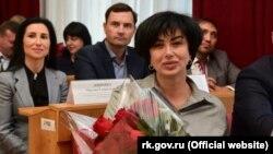 Елена Проценко, глава российской администрации Симферополя