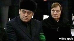 Сын и вдова бывшего президента Сапамурада Ниязова Мурад и Муза